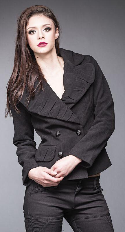 Jacket with Big Collar
