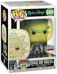 Season 4 - Space Suit Rick With Snake Vinyl Figur 689