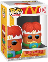 Mc Donalds Tennis McNugget Vinyl Figure 114