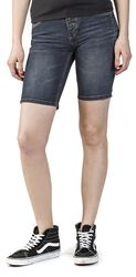 Ladies Button Fly Denim Short