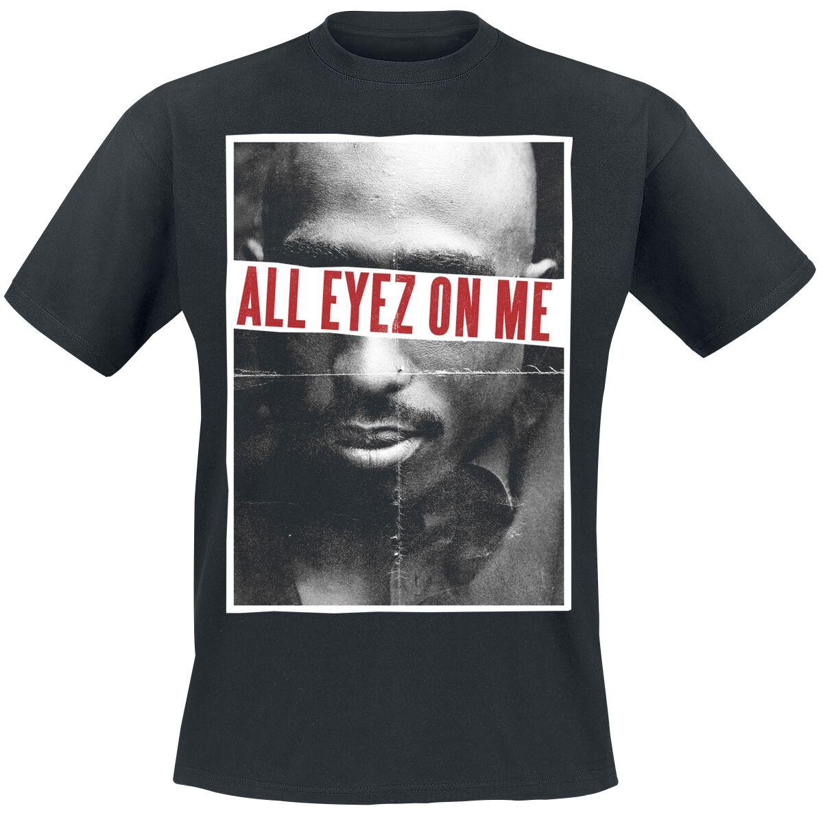 All Eyez On Me Tupac Shakur T Shirt Emp