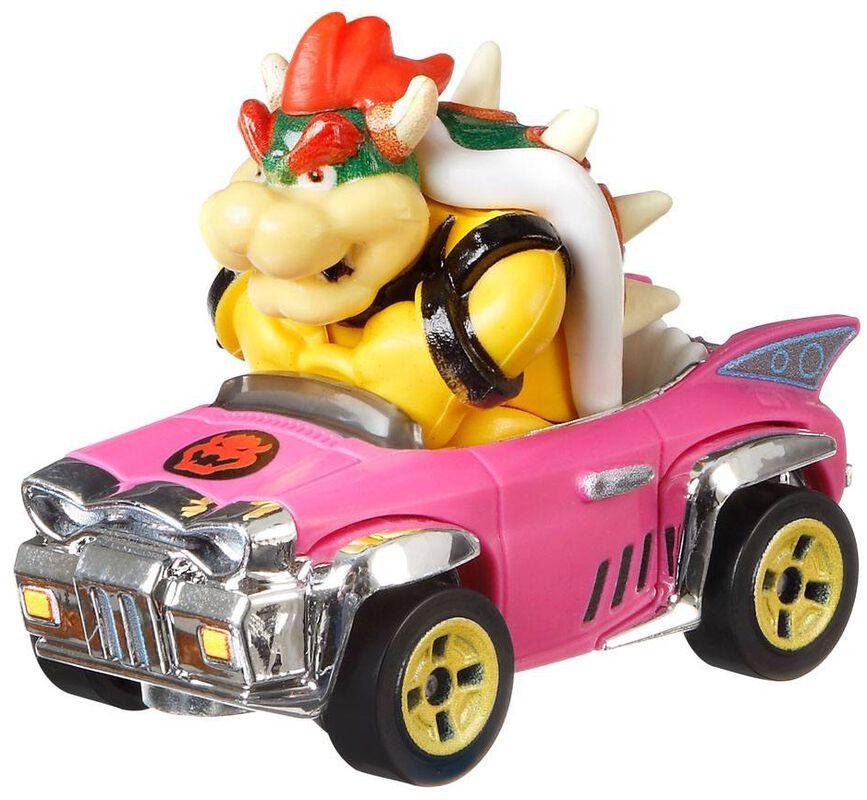 Mario Kart Hot Wheels Diecast Model Car 1/64 Bowser (Badwagon)