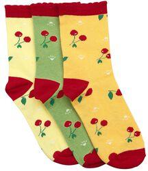 Crazy Summer 3 Pack Socks