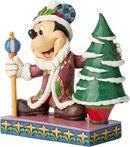 Mickey Mouse Father Christmas Figurine