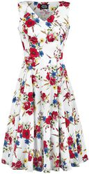 Camellia Floral Swing Dress