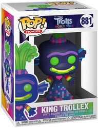 World Tour - King Trollex Vinyl Figure 881
