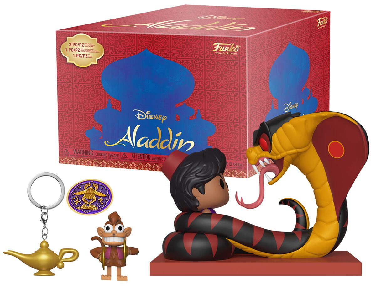 Image result for aladdin box funko