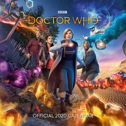 2020 Wall Calendar - The 13th Doctor