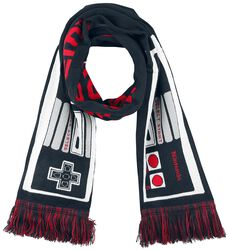 Nintendo Controller Knitted Scarf