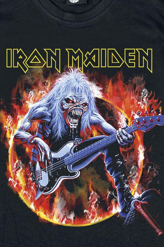 Eddie Bass Iron Maiden T Shirt Emp