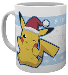 Pikachu Santa