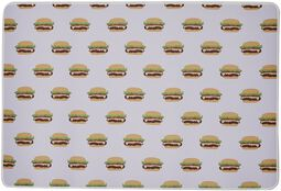 Burger Allover Desk Pad