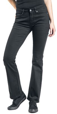 Grace - Schwarze Jeans mit Schlag