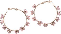 Circle of Flower Hoops