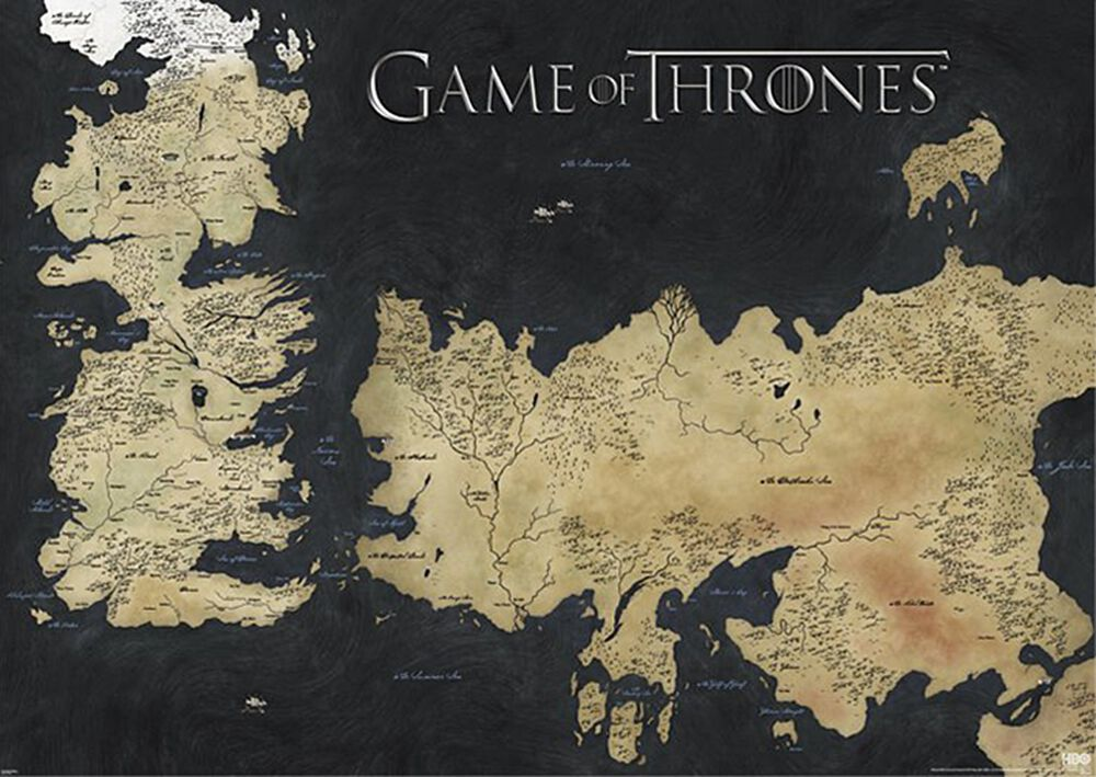 Map - Westeros & Essos