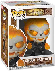 Infinity Warps - Ghost Panther Vinyl Figure 860