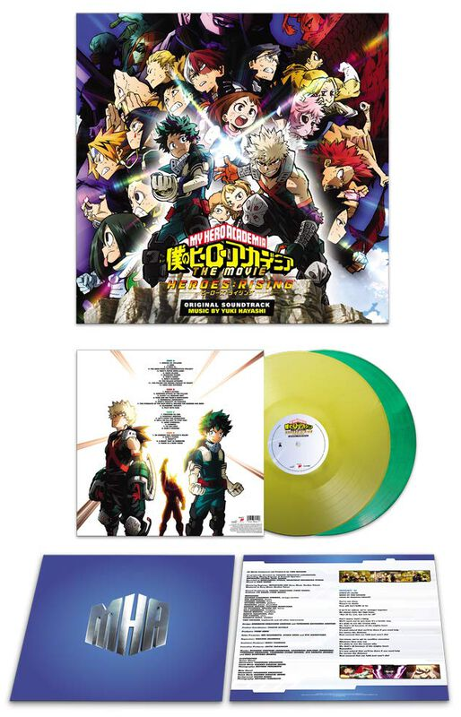 My Hero Academia: Heroes Rising / OST