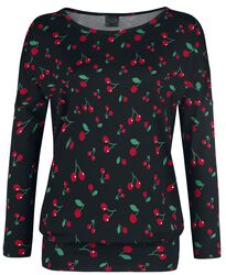 Cherries Loose Longsleeve
