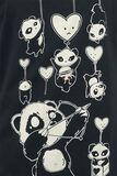 Shooting Hearts Panda Top