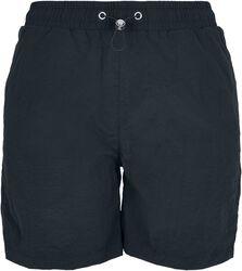 Ladies Crinkle Nylon Shorts