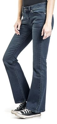 Grace - Dark blue jeans with flare