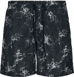 Pattern Swim Shorts - Scratch AOP