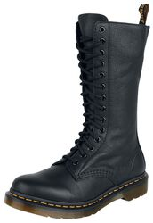 1B99 Black Virginia 14 Eye Zip Boot