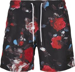 Black Rose AOP Swim Shorts