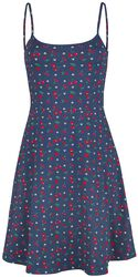 Cat Paws & Cherries Dress