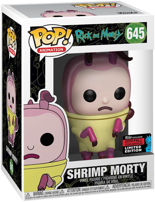 NYCC 2019 - Shrimp Morty Vinyl Figure 645
