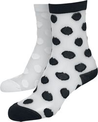 Net Socks Dots 2-Pack
