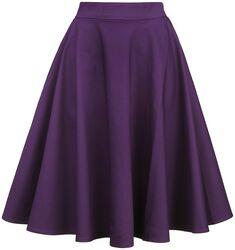 Shirley High Waist Full Circle Plain Skirt