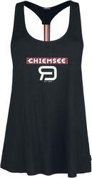 RED X CHIEMSEE - schwarzes Top mit Print